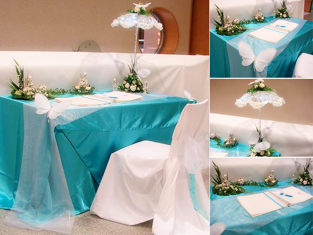 Table decorations wedding party decorationswedding party for Wedding party table decorations